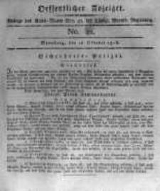 Oeffentlicher Anzeiger. 1816.10.18 No.42