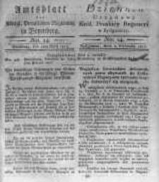 Amtsblatt der Königlichen Preussischen Regierung zu Bromberg. 1817.04.04 No.14