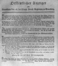 Oeffentlicher Anzeiger zum Amtsblatt No.16. der Königl. Preuss. Regierung zu Bromberg. 1817