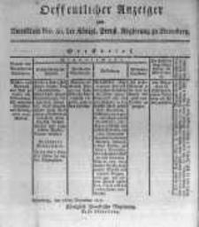 Oeffentlicher Anzeiger zum Amtsblatt No.50. der Königl. Preuss. Regierung zu Bromberg. 1817