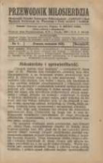 """Przewodnik Miłosierdzia: miesięcznik Związku Towarzystw Dobroczynności """"Caritas"""" i Rad Wyższych Kongregacji św. Wincentego à Paulo męskich i żeńskich 1925 wrzesień R.4 Nr9"""