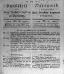 Amtsblatt der Königlichen Preussischen Regierung zu Bromberg. 1819.07.30 No.32