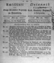 Amtsblatt der Königlichen Preussischen Regierung zu Bromberg. 1819.08.06 No.33