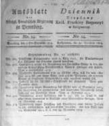 Amtsblatt der Königlichen Preussischen Regierung zu Bromberg. 1819.12.31 No.54