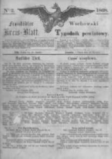 Fraustädter Kreisblatt. 1868.01.10 Nr2