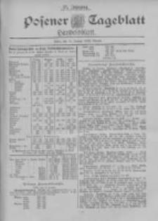 Posener Tageblatt. Handelsblatt 1898.01.13 Jg.37
