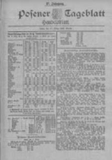 Posener Tageblatt. Handelsblatt 1898.03.17 Jg.37