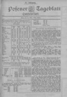 Posener Tageblatt. Handelsblatt 1898.03.22 Jg.37