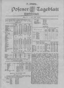 Posener Tageblatt. Handelsblatt 1898.04.13 Jg.37