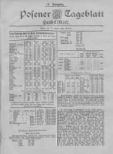 Posener Tageblatt. Handelsblatt 1898.04.18 Jg.37
