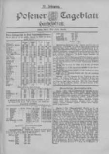 Posener Tageblatt. Handelsblatt 1898.05.07 Jg.37