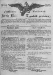 Fraustädter Kreisblatt. 1868.08.07 Nr32