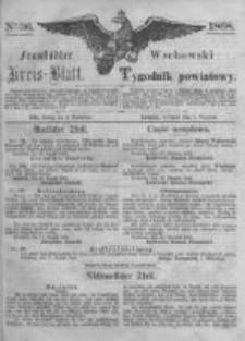 Fraustädter Kreisblatt. 1868.09.04 Nr36