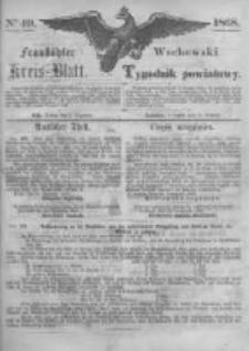 Fraustädter Kreisblatt. 1868.12.04 Nr49