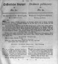 Oeffentlicher Anzeiger zum Amtsblatt No.31. der Königl. Preuss. Regierung zu Bromberg. 1820