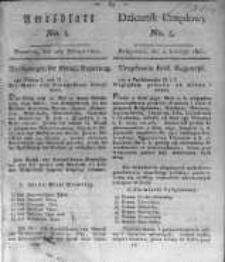 Amtsblatt der Königlichen Preussischen Regierung zu Bromberg. 1821.02.02 No.5