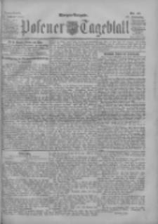 Posener Tageblatt 1902.01.25 Jg.41 Nr41