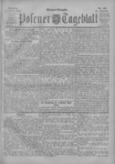 Posener Tageblatt 1902.01.28 Jg.41 Nr45