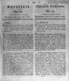 Amtsblatt der Königlichen Preussischen Regierung zu Bromberg. 1821.06.15 No.24