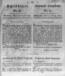 Amtsblatt der Königlichen Preussischen Regierung zu Bromberg. 1821.08.31 No.35