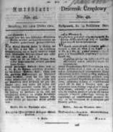 Amtsblatt der Königlichen Preussischen Regierung zu Bromberg. 1821.10.19 No.42