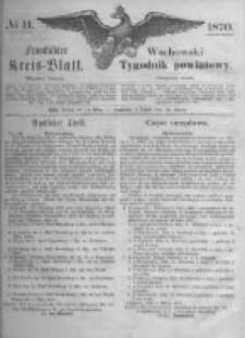 Fraustädter Kreisblatt. 1870.03.18 Nr11