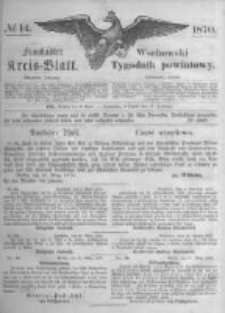 Fraustädter Kreisblatt. 1870.04.08 Nr14