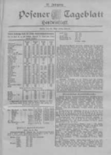 Posener Tageblatt. Handelsblatt 1898.05.21 Jg.37