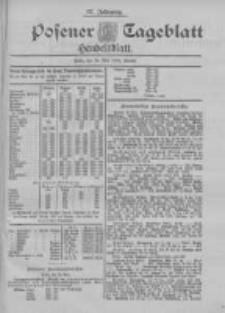 Posener Tageblatt. Handelsblatt 1898.05.26 Jg.37