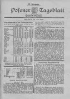 Posener Tageblatt. Handelsblatt 1898.05.28 Jg.37