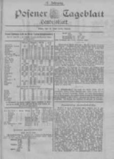 Posener Tageblatt. Handelsblatt 1898.06.11 Jg.37