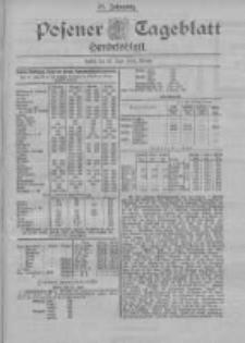 Posener Tageblatt. Handelsblatt 1898.06.22 Jg.37