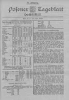 Posener Tageblatt. Handelsblatt 1898.06.21 Jg.37