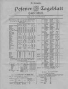 Posener Tageblatt. Handelsblatt 1898.06.25 Jg.37