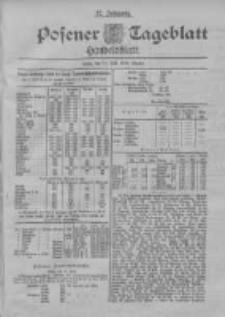 Posener Tageblatt. Handelsblatt 1898.07.11 Jg.37