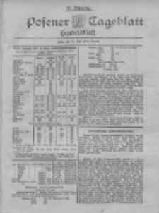 Posener Tageblatt. Handelsblatt 1898.07.23 Jg.37