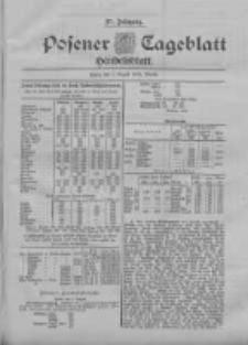 Posener Tageblatt. Handelsblatt 1898.08.01 Jg.37