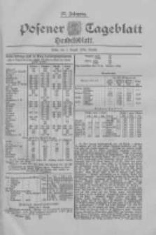Posener Tageblatt. Handelsblatt 1898.08.03 Jg.37