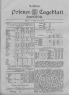 Posener Tageblatt. Handelsblatt 1898.08.08 Jg.37