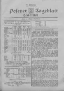Posener Tageblatt. Handelsblatt 1898.08.09 Jg.37