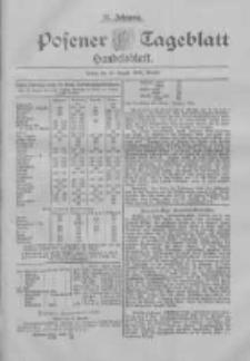 Posener Tageblatt. Handelsblatt 1898.08.13 Jg.37