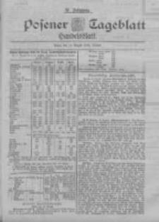 Posener Tageblatt. Handelsblatt 1898.08.16 Jg.37