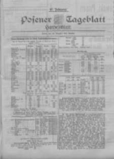 Posener Tageblatt. Handelsblatt 1898.08.22 Jg.37