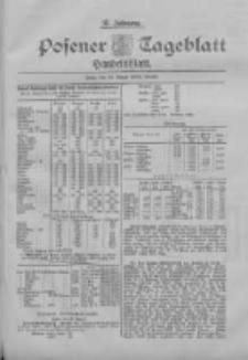 Posener Tageblatt. Handelsblatt 1898.08.29 Jg.37