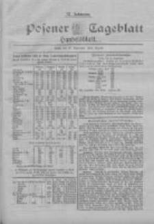 Posener Tageblatt. Handelsblatt 1898.09.27 Jg.37