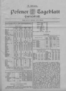Posener Tageblatt. Handelsblatt 1898.09.28 Jg.37