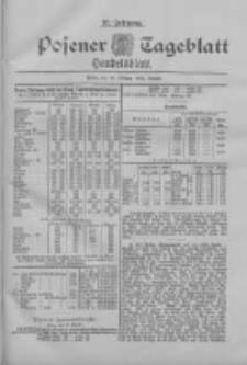 Posener Tageblatt. Handelsblatt 1898.10.10 Jg.37