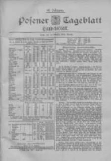 Posener Tageblatt. Handelsblatt 1898.10.11 Jg.37