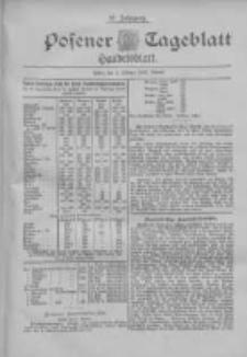 Posener Tageblatt. Handelsblatt 1898.10.01 Jg.37