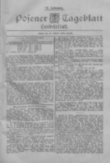Posener Tageblatt. Handelsblatt 1898.10.15 Jg.37